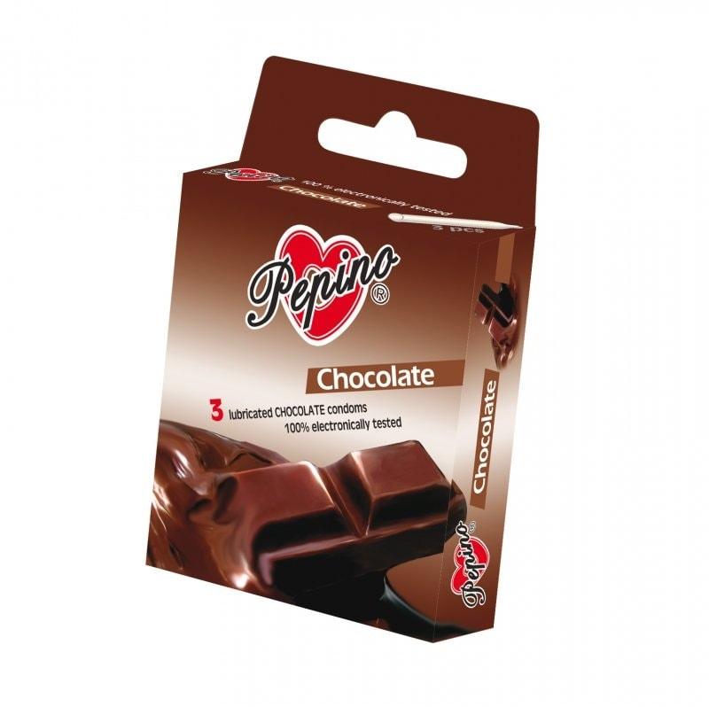 Kondomy Pepino - Čokoláda