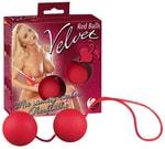 Venušiny kuličky Velvet red balls